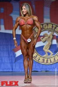 Karina Grau - Figure International - 2014 Arnold Classic