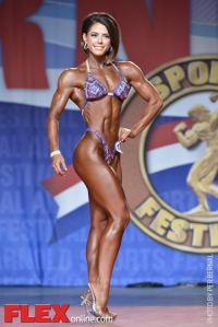 Alicia Coates - Figure International - 2014 Arnold Classic