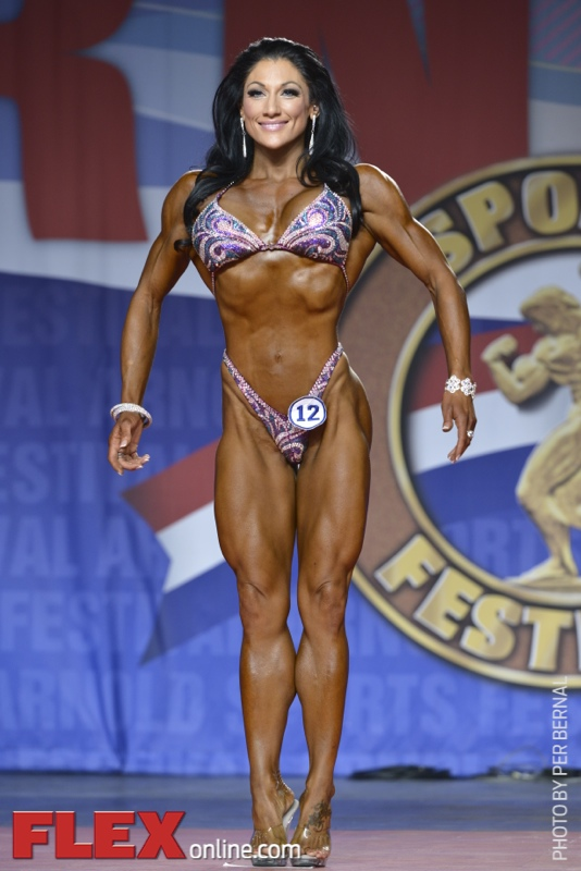 Candice Keene - Figure International - 2014 Arnold Classic