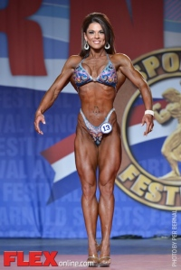 Ann Titone - Figure International - 2014 Arnold Classic