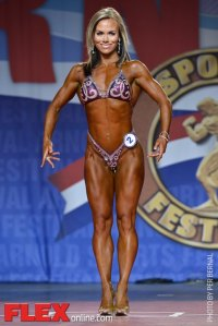 Allison Ethier - Fitness International - 2014 Arnold Classic