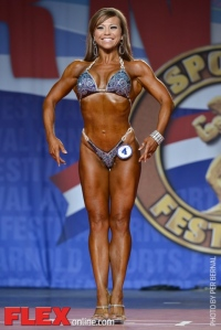 Babette Mulford - Fitness International - 2014 Arnold Classic