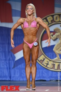 Melinda Szabo - Fitness International - 2014 Arnold Classic