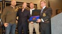 Arnold Schwarzenegger Hosts International Sports Hall of Fame