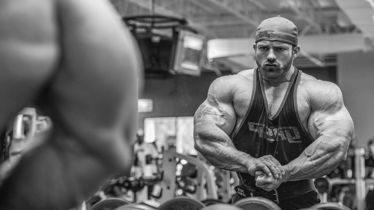 Flex Lewis 2 Weeks Before the 2014 Arnold