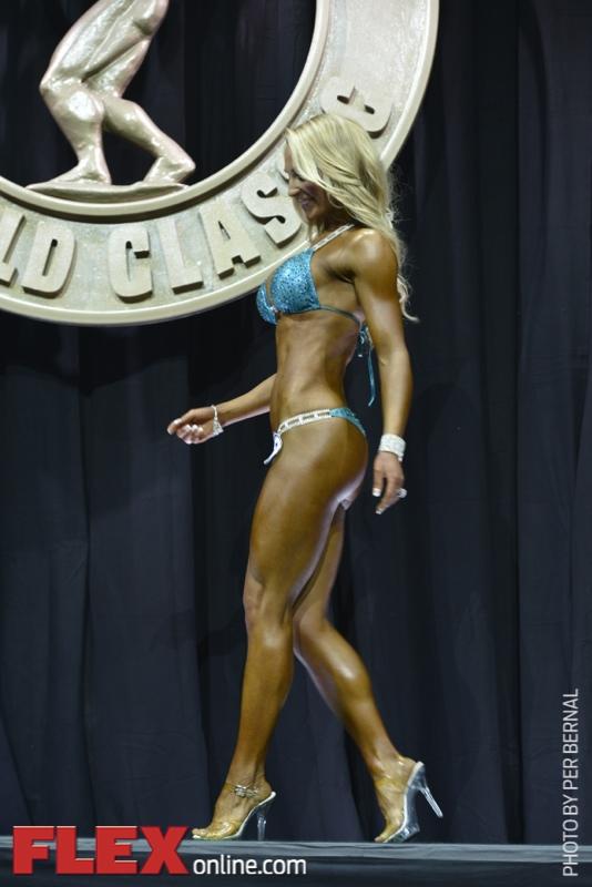 Anna Virmajoki - Bikini International - 2014 Arnold Classic