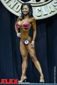 Noy Alexander - Bikini International - 2014 Arnold Classic