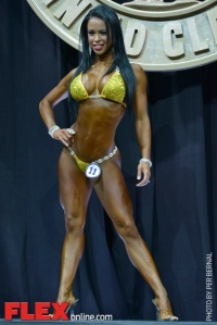 India Paulino - Bikini International - 2014 Arnold Classic