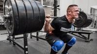 John Cena Squats 595 Pounds