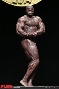 Toney Freeman - 2014 Arnold Brazil