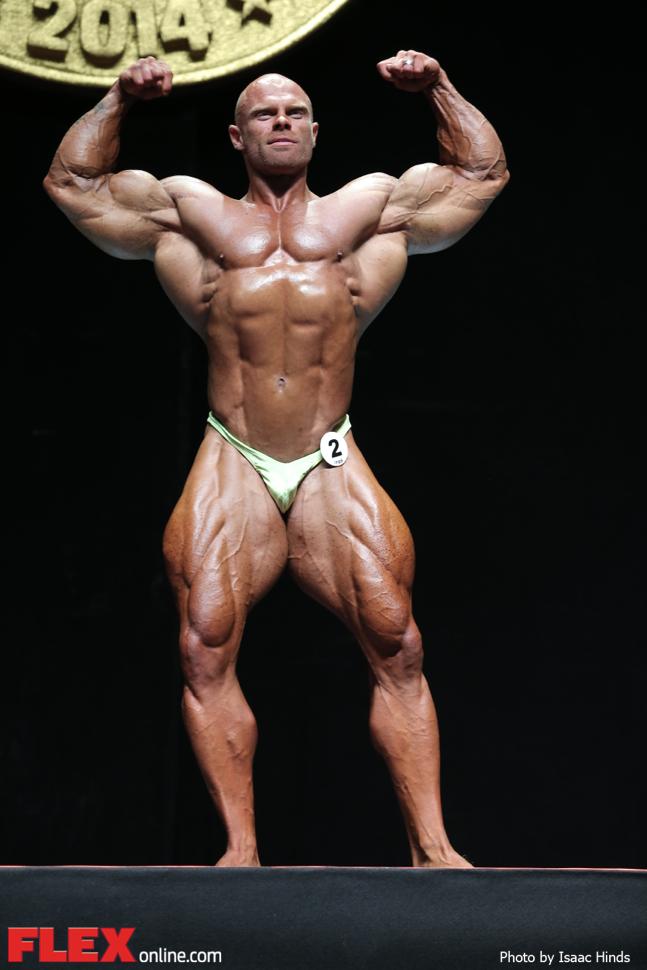 Marius Dohne - 2014 Arnold Brazil