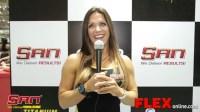 Oksana Grishina at the 2014 Arnold Brazil Expo