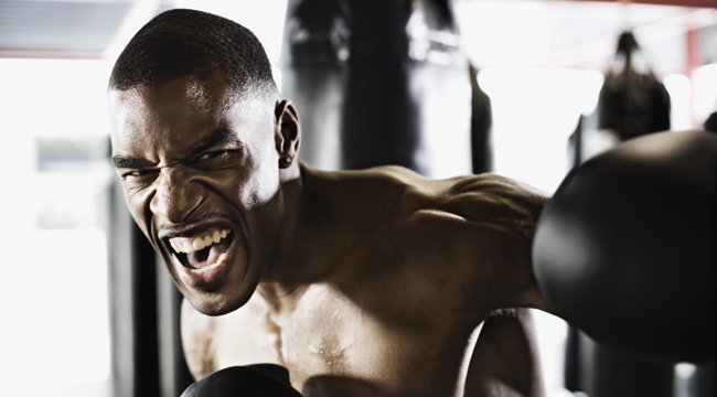 Push Through the Pain to Build Muscle