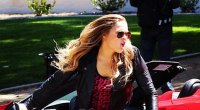 Ronda Rousey Posts Entourage and Expendables Photos
