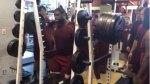 Terrence Jones Squats a Trojan 810 Pounds