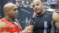Interview with IFBB Pro Manuel Romero at the 2014 Dallas Europa