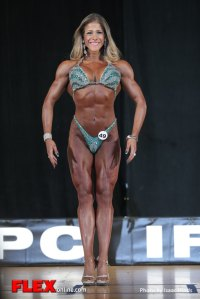 Karina Grau - Figure - 2014 IFBB Pittsburgh Pro