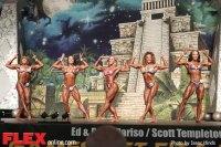 Women's Physique Comparisons - 2014 Dallas Europa