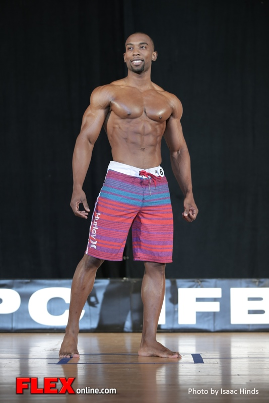 Maurice Arthur - Mens Physique - 2014 IFBB Pittsburgh Pro