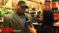 Kai Greene at the 2014 GNC Event in Pittsburgh