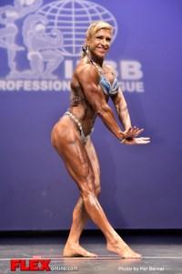 Karen Gatto - Women's Physique - 2014 New York Pro Championships