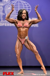 Teresita Morales - Women's Physique - 2014 New York Pro Championships