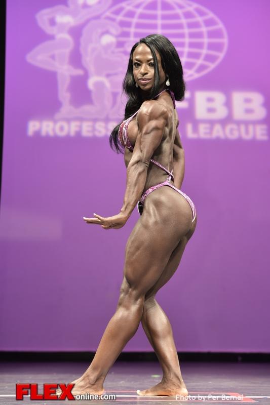 Alicia Spearman - Women's Physique - 2014 New York Pro Championships