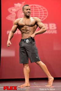Andre Adams - Mens Physique - 2014 New York Pro Championships