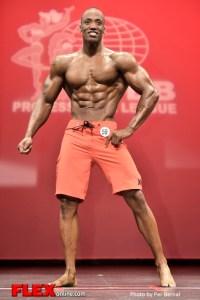 Sharif Reid - Mens Physique - 2014 New York Pro Championships