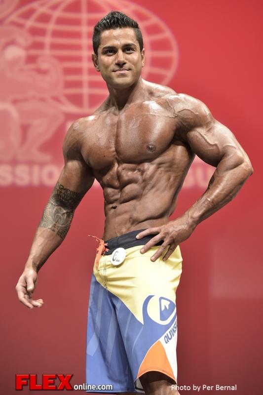 A.J. Shukoori - Mens Physique - 2014 New York Pro Championships