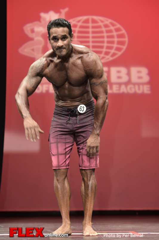 Tony Torres - Mens Physique - 2014 New York Pro Championships