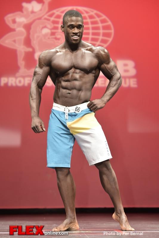 Pierre Vuala - Mens Physique - 2014 New York Pro Championships