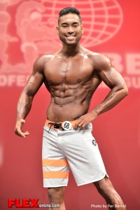 Derrick Yuvienco - Mens Physique - 2014 New York Pro Championships