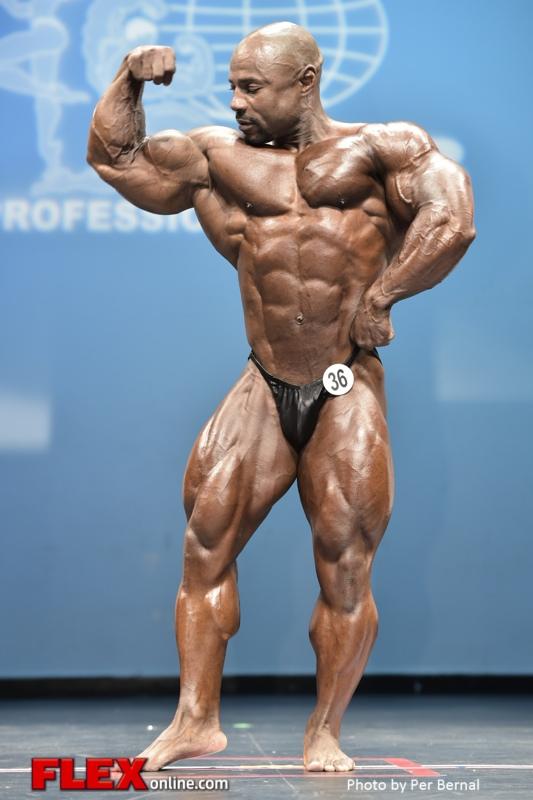 Marvin Ward - Men 212 - 2014 New York Pro Championships
