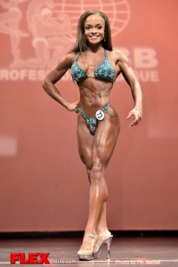 Andrea Calhoun - Figure - 2014 New York Pro Championships