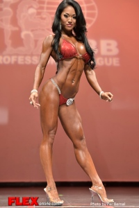 Belinda Kiriakou - Bikini - 2014 New York Pro Championships