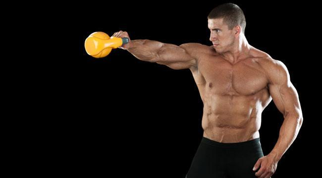 Full-Body Kettlebell Workout