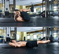 Ab Workout - Double Crunch