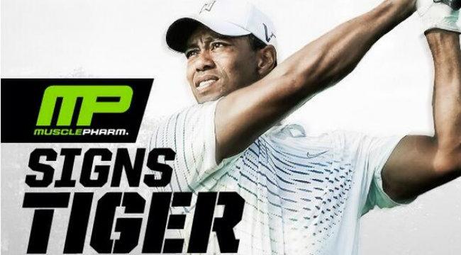 Tiger Woods Becomes Brand Ambassador for MusclePharm ...