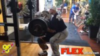 Roelly Winklaar Trains Legs in Preparation for the Chicago Pro