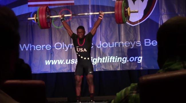 C.J. Cummings American Weight Lifter