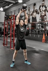 Fit in 15: Strength Building Kettlebell Thrash