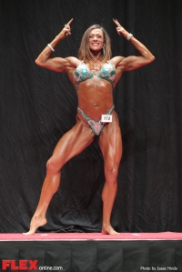 Brienne Eubanks - Women's Physique D - 2014 USA Championships