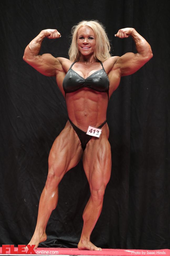 Aleesha Young - Heavyweight - 2014 USA Championships