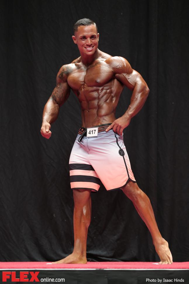 Axel Alvarez - Men's Physique A - 2014 USA Championships
