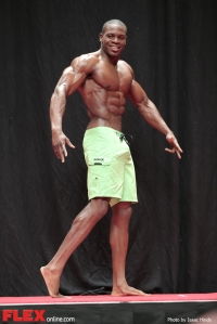 Khalfani Quartey - Men's Physique F - 2014 USA Championships