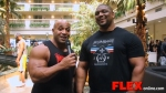 Dennis James Catches Up with IFBB Pro Quincy Taylor
