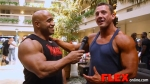 Dennis James Interviews Heavyweight Bodybuilder Kevin Libby at the 2014 USAs