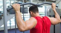 behind neck lat pulldown