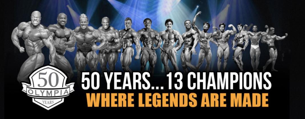 50 Years, 13 Champions